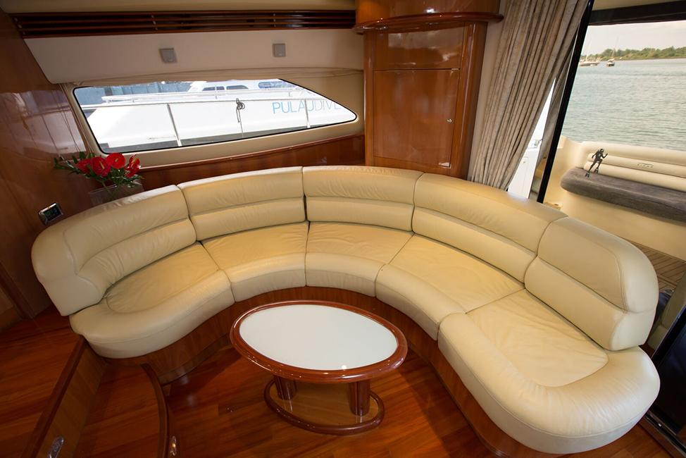 Image description: Boat interior image